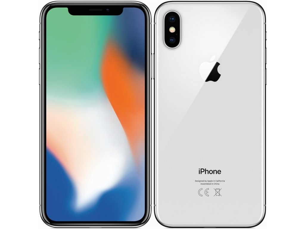 APPLE - iPhone X 64GB Silver - repas A+