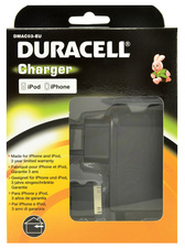 AC adaptér Duracell Apple iPhone 4  5v 2.4A - 12W, konektor 30 pin