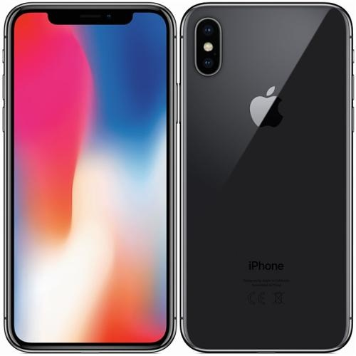 APPLE - iPhone X 256GB Space Gray - repas A+
